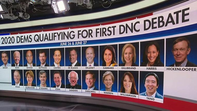 8a65da24-Democrats 2020 first debate candidates