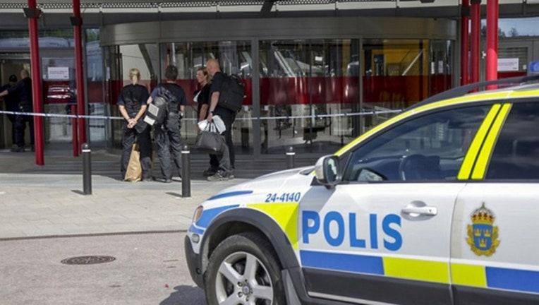 Ikea shooting Sweden