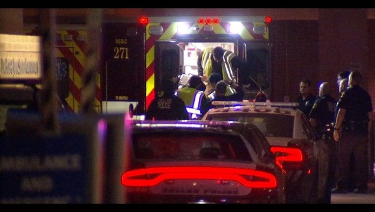 Dallas Police Officer Arrives at Dallas Methodist Medical Center on October 21_1540130281760.jpg.jpg