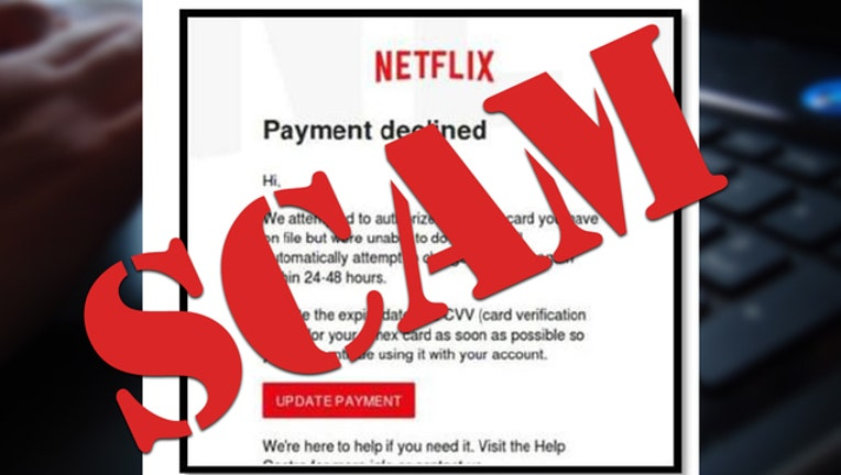 Netflix Scam-401720