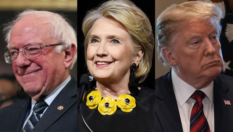 98780c89-GETTY Bernie Sanders, Hillary Clinton, Donald Trump_1547684496373.jpg-407693.jpg