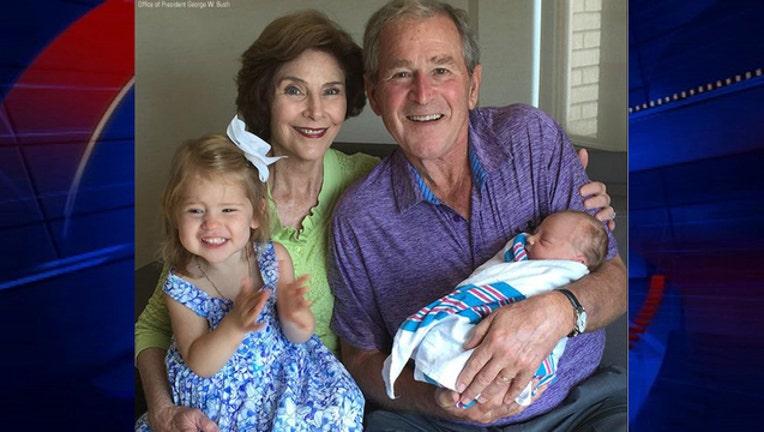 a323583f-Hager birth George W Bush