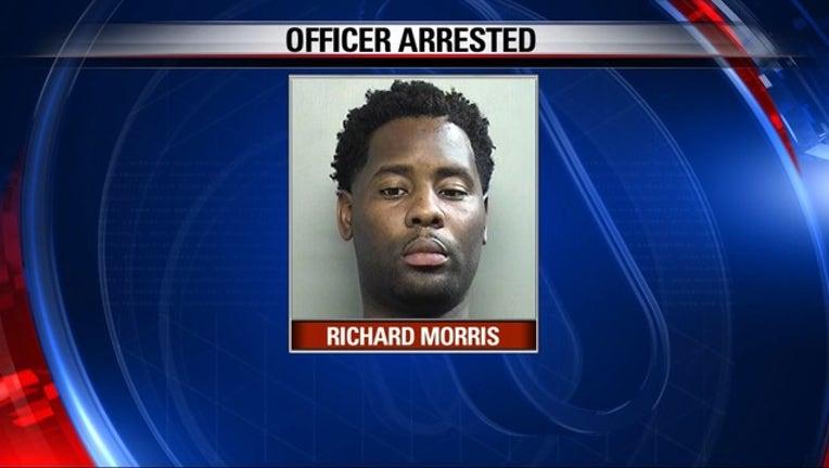 Richard Morris ARLINGTON POLICE OFFICER ARRESTED