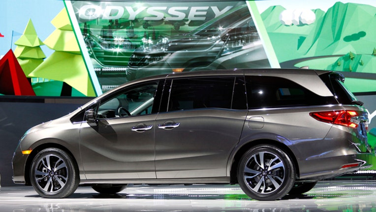 GETTY -- Honda Odyssey