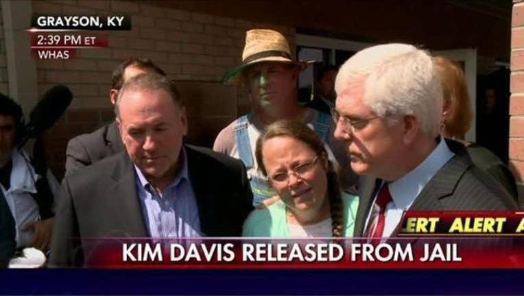 Kentucky clerk released