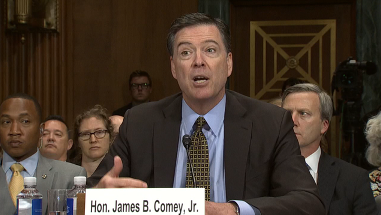 JAMES COMEY TESTIFYING May 3