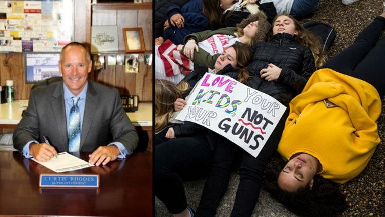 texas no gun protest - getty protest