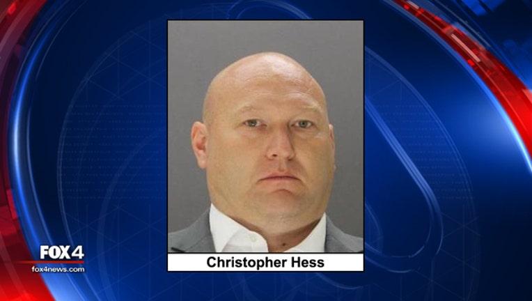 Christopher Hess mugshot