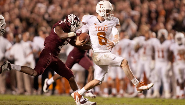 Texas vs Texas A&M 2011 GETTY