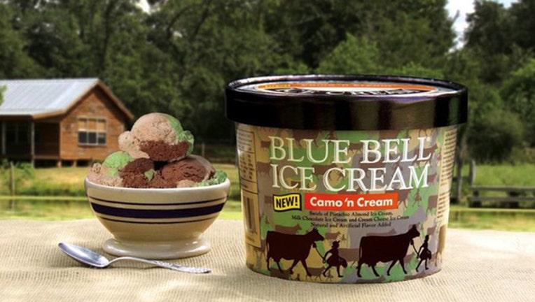 Blue Bell Camo 'n Cream