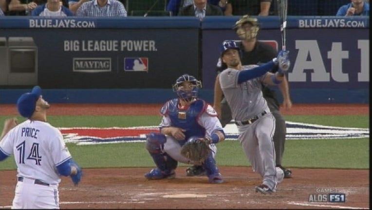 e32965c5-Rangers 5 blue Jays 3 ALDS Game 1