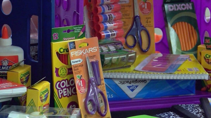 Tax-free weekend underway in Texas for back-to-school goods