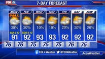 Rain Chances Increase!