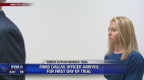 Amber Guyger arrives for the first day of her murder trial