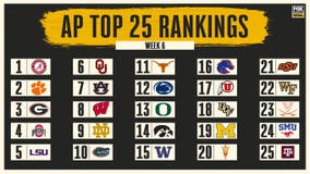 AP Top 25: No. 24 SMU ranked for first time since 1986