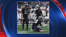 TCU kicker injured after being hit on moped scooter