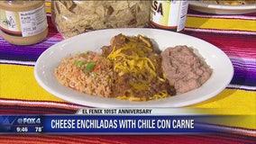 El Fenix Cheese Enchiladas