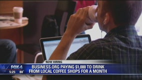 Could you ditch corporate coffee chains for a month for $1,000?