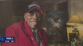 Tuskegee Airman returns to Dallas home