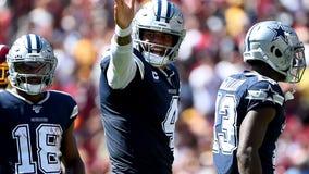 Dak Prescott spreading the wealth in hot start for Cowboys