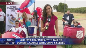 DFW teams prepare for Red Bull Soapbox Race