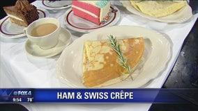 Café Intermezzo Ham & Swiss Crêpe