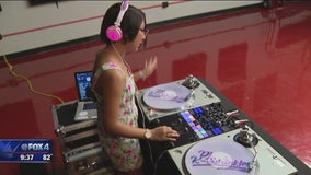 Dallas teen taking her DJ skills to the next level