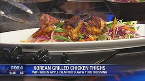 Korean Grilled Chicken Thighs