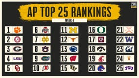AP Top 25: Cal, Arizona St move in to give Pac-12 6 ranked; TCU joins at No. 25