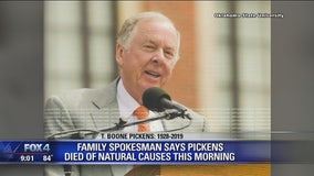 Business tycoon T. Boone Pickens dies at 91 in Dallas