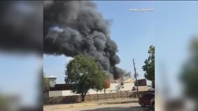 Restaurant under construction near Dallas Love Field destroyed by fire