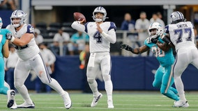 Cowboys move to 3-0 with 31-6 win over the Dolphins