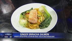 Ginger Sriracha Salmon