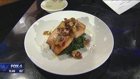 Grilled Salmon with Habanero Pineapple Salsa