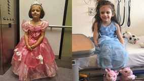 'Princess energy': Girl, 5, attends chemotherapy treatments dressed in different gown each time