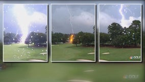 Multiple people injured after lightning strike at PGA Tour Championship