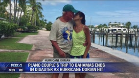 Plano couple thankful to be alive after living through Hurricane Dorian in the Bahamas