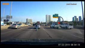 Dallas man who captured viral highway scooter stunt recounts bizarre commute