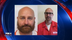 Prison escapees from Wyoming spotted in North Texas; 1 caught, another still on the loose