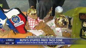 State Fair Foods: Ruth's Stuffed Fried Taco Cone