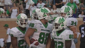Three UNT football players test positive for COVID-19 antibodies