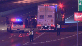 Man killed while trying to cross I-35 in Dallas