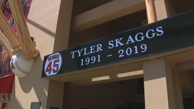 ME: Fentanyl, Oxycodone led to death of Angels pitcher Tyler Skaggs at North Texas hotel