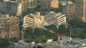 Implosion held for Republic/National Bank facility in Dallas