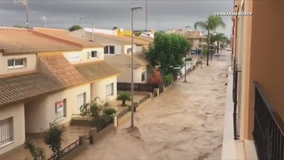 Torrential rains pound southeastern Spain, death toll to 4