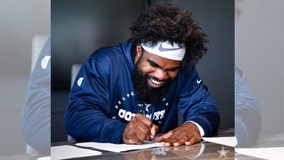 Dallas Cowboys reach 6-year, $90M deal with Ezekiel Elliott