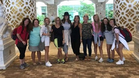 Ga. bride turns bachelorette party into Hurricane Dorian relief mission
