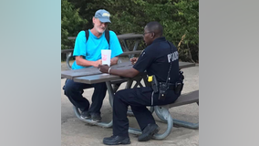 Garland police officer applauded for helping homeless man get back on his feet