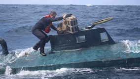 Coast Guard crew from Jacksonville intercepts narco sub carrying $165 million in cocaine