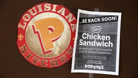 Man reportedly sues Popeyes after popular chicken sandwich sells out, citing 'wasted time'